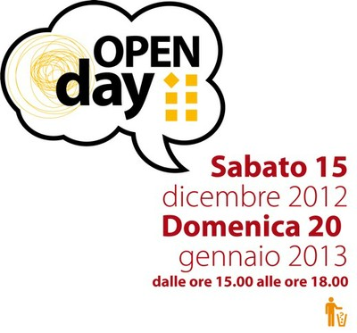 Date Open day 2012/13