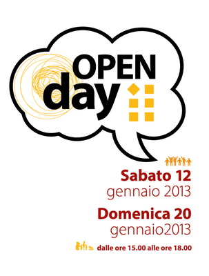 Nuove date Open day